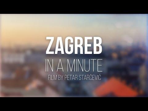 ZAGREB in a minute -Timelapse & Hyperlapse Film