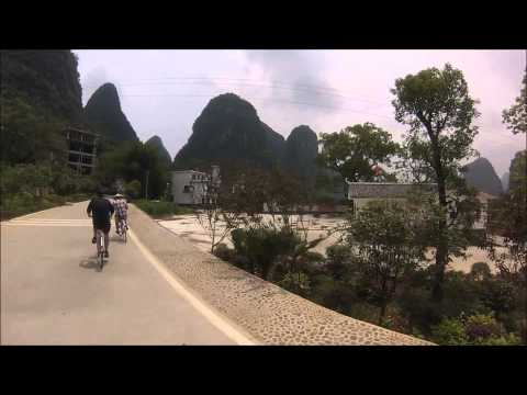 Yangshuo Bike Tour Part 5: More Yulong River