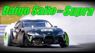 Daigo Saito New Toyota Supra 2JZ Shake down