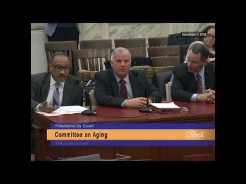 Committee on Aging 12-7-2016