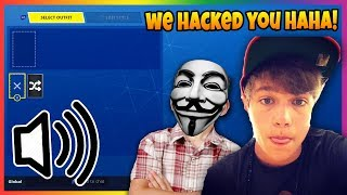 These *KIDS* HACKED into my $5,000 Fortnite Account.. (FULL Interrogation)