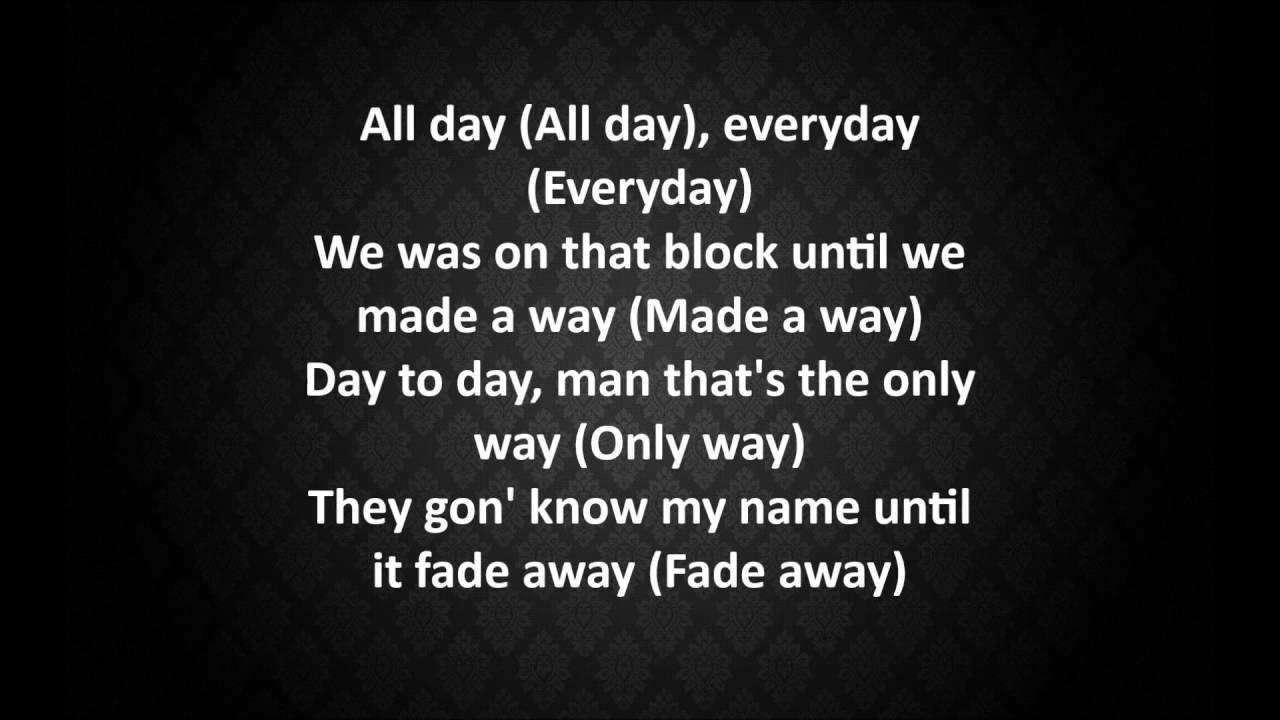 Logic - Fade Away w/ Lyrics - YouTube