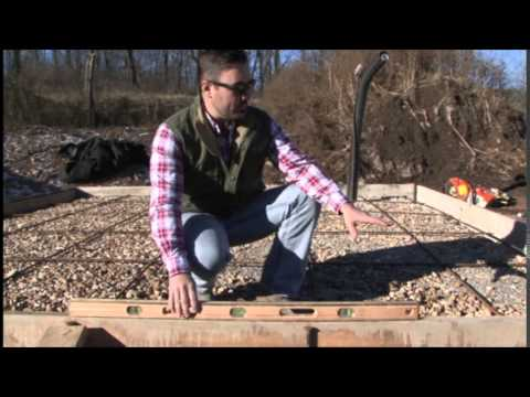 Earth Outdoor Furnace - Concrete Pad Information - YouTube