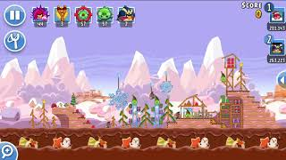 Angry Birds Friends 25th Dec 2017 Level 2 SANTACOAL & CANDYCLAUS TOURNAMENT.