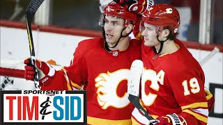 Brian Burke says he's surprised by the Flames' season | Tim and Sid