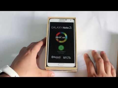 Unboxing Samsung Galaxy Note 3 ESPAÑOL