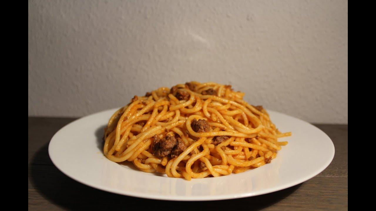 Como Cocinar Espaguetis | Como Hacer Espaguetis Con Carne Picada Youtube