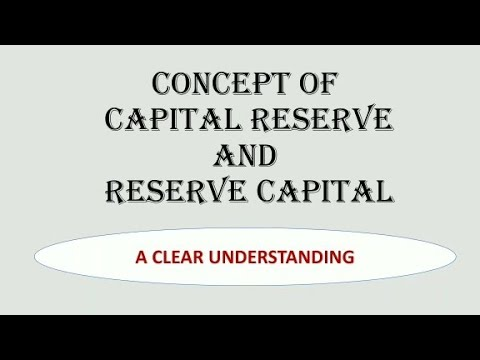 Capital Reserve and