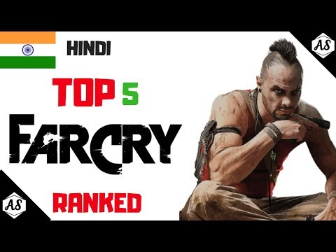 (HINDI) Which Is THE BEST FARCRY GAME? || Top 5 FARCRY Games