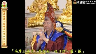 師尊親誦不動明王心咒-2