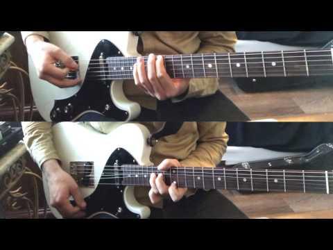 Elevation - Mighty Warrior Electric Guitar Lead & Rhythm Tutorial + Line6 Helix Preset