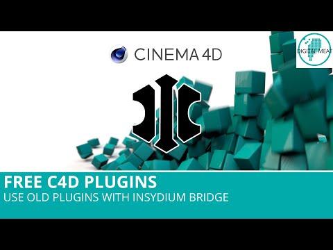 Free C4D Plugins: Use Old Plugins With C4D R20 & Insydium