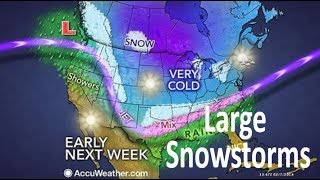 Why This Upcoming Pattern Change Will Lead To Large Snowstorms
