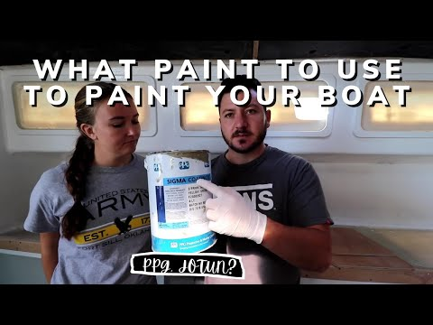 HOW TO: PAINT your BOAT & what PAINT to use!