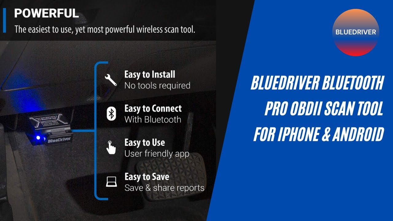 Best obd2 scanner   BlueDriver Bluetooth Pro OBDII Scan Tool for iPhone &  Android  Bluetooth scanner - YouTube