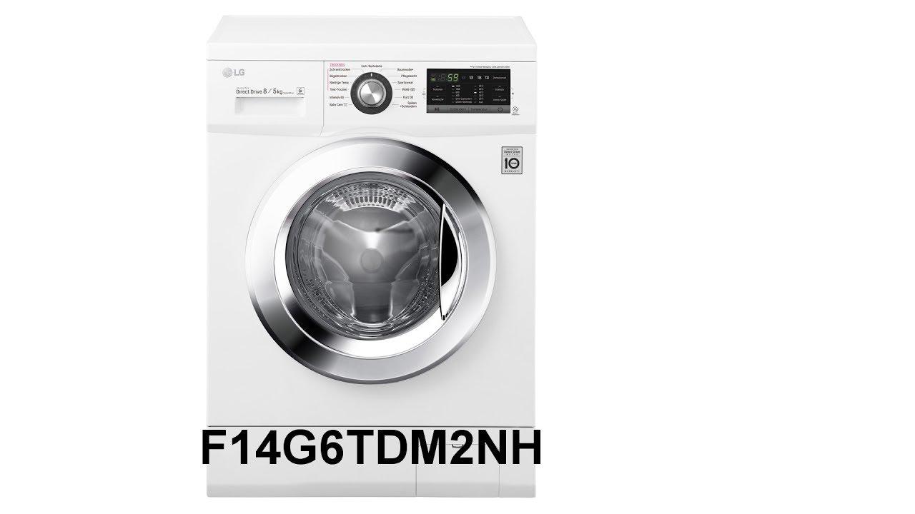 lg electronics f14g6tdm2nh 85 kg a inverter direct drive 6motion