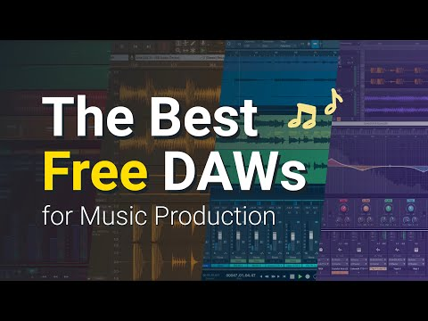 Best Free DAWs - Music Production Software (2021)