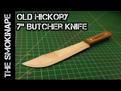 Old Hickory 7 Inch Butcher Knife - Show and Tell - TheSmokinApe