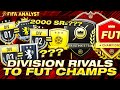 How Does Your Division Rivals Rank Compare To Your FUT Champs Record