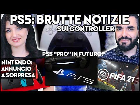 """PS5: CATTIVE NOTIZIE, PS5 """"PRO"""" in futuro? + NINTENDO: Annuncio A SORPRESA #NEWS"""