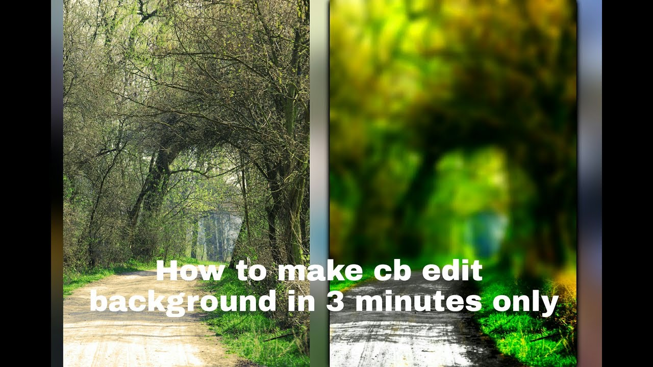 how to edit cb edit background in picsart how to make cb edit