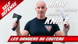 COMMENT FAIRE FACE À UNE ATTAQUE AU COUTEAU ? / How to Defend Against a Knife Attack?