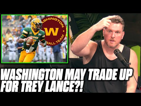 Pat McAfee Reacts To Rumor Washington Football Team Wants Trey Lance