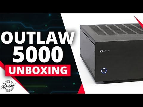 Outlaw Model 5000 Unboxing & Setup | Add an External Amp to your AV Receiver