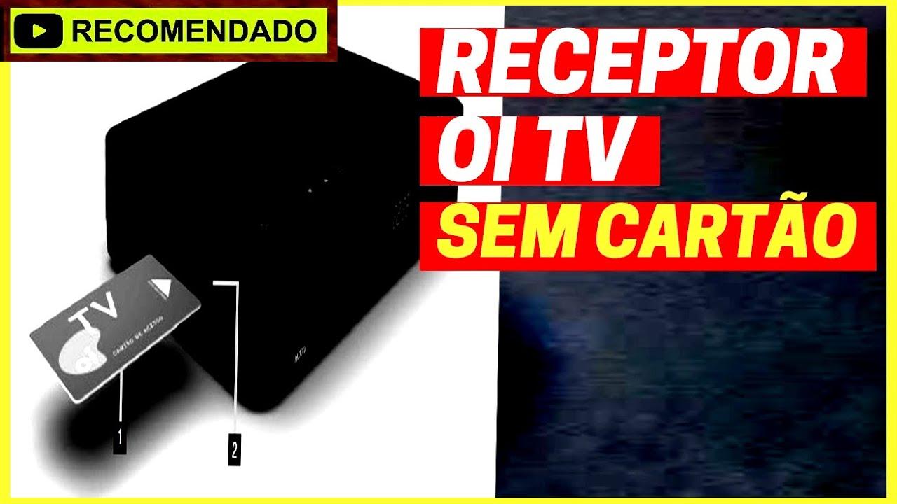 e9f368f4262 PERDI o CARTÃO do RECEPTOR Oi TV