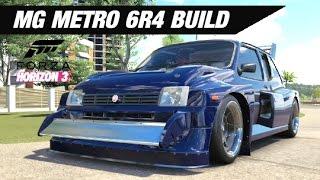 mg metro 6r4 sleeper build forza horizon 3