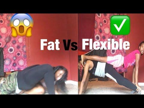 FAT VS FLEXIBLE YOGA CHALLENGE!!!