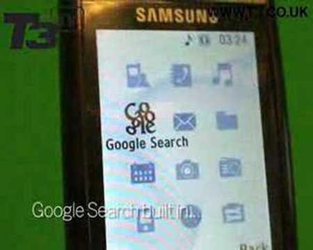 Samsung G600 handled