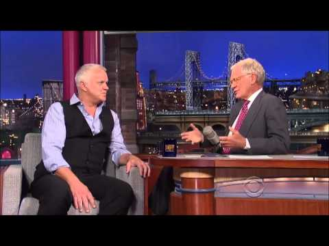 Tim Robbins interview on David Letterman HD   4 September, 2013