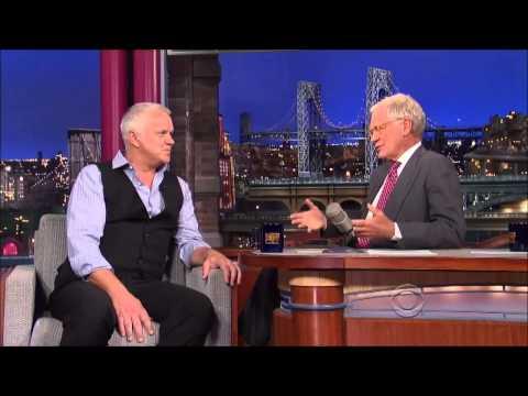 Tim Robbins  on David Letterman HD   4 September, 2013