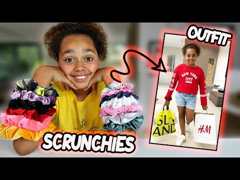 Colored Scrunchies Pick My Outfits - Challenge