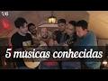 (1/6) 5 músicas conhecidas - 5 grandes violonistas do YouTube