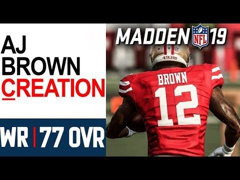 Download How To Make Wr Aj Brown Ole Miss Madden 19 Ps4 Xbox 1 Pc