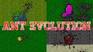 Ant Evolution