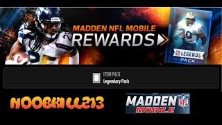 Madden Mobile Pro Rewards Free Pack