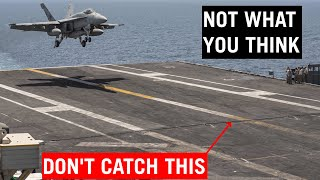 Why Aircraft Carriers Lost One Arresting Wire?