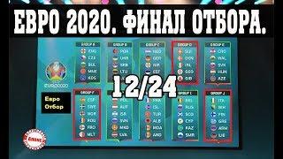 Чемпионат Европы по футболу Отбор на ЕВРО 2020 9 Результаты групп F J D Расписание Таблицы