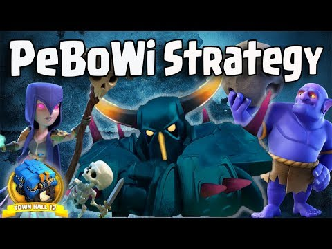 PeBoWi Strategy TH12 | Best Max Pekka Army Th12 War 3 Star Attack Guide Clash Of Clans