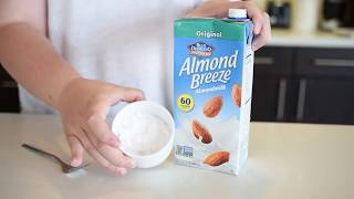 Vegan cinnamon bun made in a mug!
