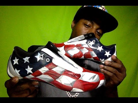 Custom United States Flag Pumas