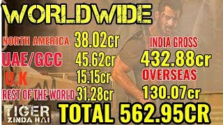 TIGER ZINDA HAI WORLDWIDE BOX OFFICE COLLECTIONS DAY 42 | ALL TIME BLOCKBUSTER | SALMAN KHAN Video