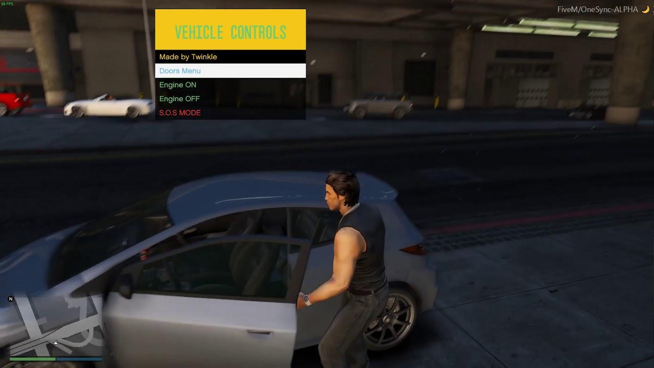 ESX Vehicle Controls FiveM - YouTube