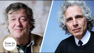 Stephen Fry & Steven Pinker on the Enlightenment Today