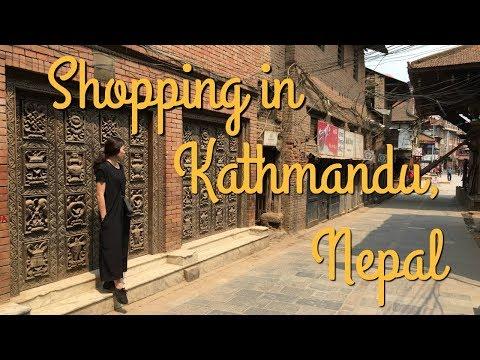 Shopping in Nepal - Kathmandu, Patan Durbar Square