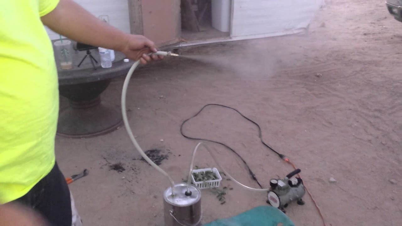 vacuum leak smoke machine