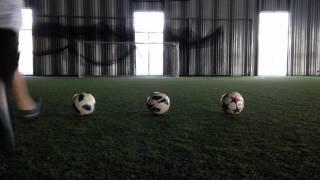 Adidas Finale, Nike T90, Nike Maxim ball test
